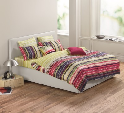 Esprit Cotton Printed King sized Double Bedsheet