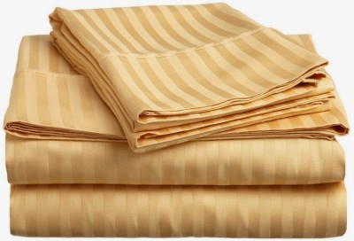 Amrich Cotton Striped Queen sized Double Bedsheet