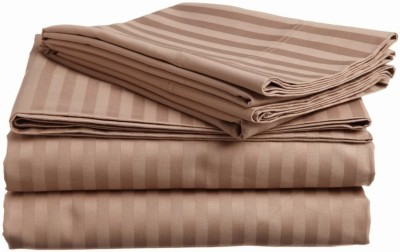 Scalabedding Cotton Striped Crib Bedsheet
