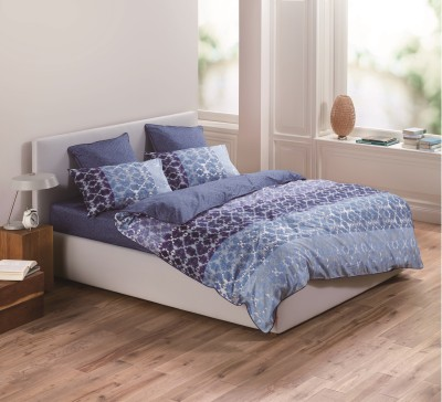 Esprit Cotton Abstract Single Bedsheet