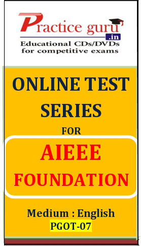 Practice Guru AIEEE Foundation Online Test(Voucher)