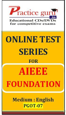 Practice Guru AIEEE Foundation Online Test(Voucher)