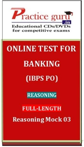 Practice Guru Banking (IBPS PO) Reasoning Full-length Reasoning Mock 03 Online Test(Voucher)