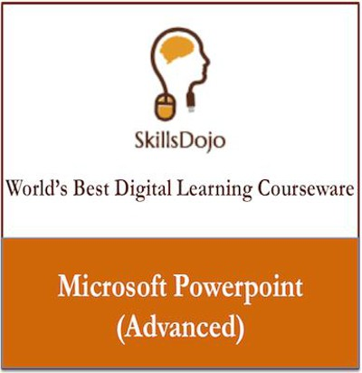 SkillsDojo Microsoft PowerPoint (Advanced) Certification Course(Voucher)
