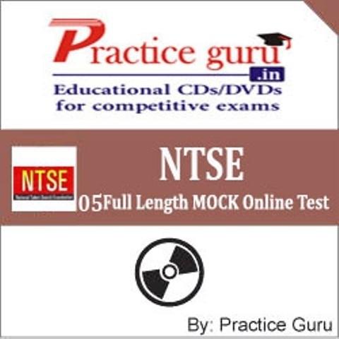 Practice Guru NTSE - 05 Full Length MOCK Online Test(Voucher)