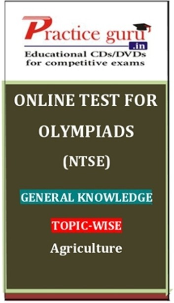 Practice Guru Olympiads (NTSE) General Knowledge Topic-wise - Agriculture Online Test(Voucher)