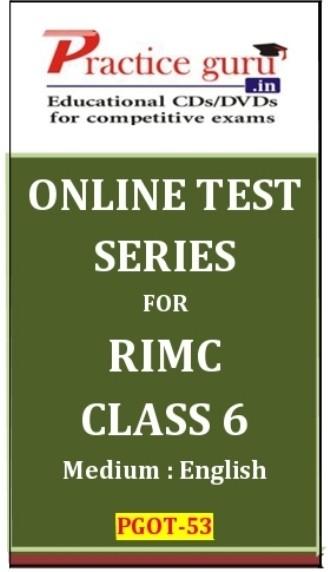 Practice Guru RIMC Class 6 Online Test(Voucher)