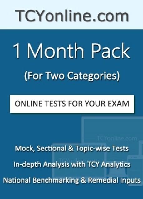 TCYOnline 1 Month Exam Prep Pack (2 Categories) Online Test(Voucher)