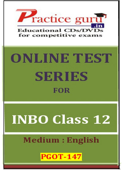 Practice Guru Series for INBO Class 12 Online Test(Voucher)