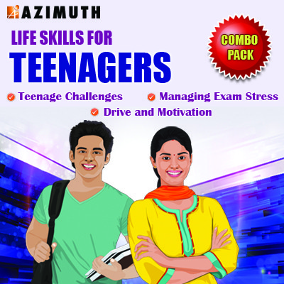 Azimuth Life Skills for Teenagers - Teenage Challenges / Managing Exam Stress / Drive and Motivation Online Course(Voucher)