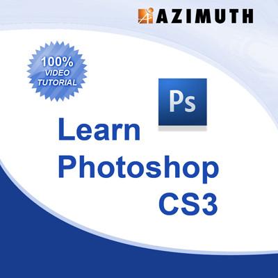 Azimuth Learn Photoshop CS3 Online Course(Voucher)