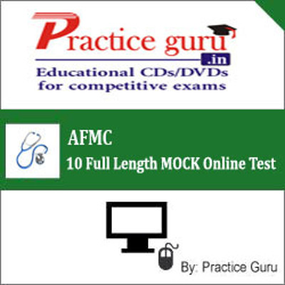 Practice Guru AFMC - 10 Full Length MOCK Online Test(Voucher)