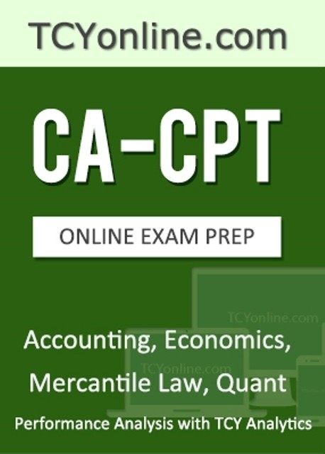 TCYonline CA - CPT Online Exam Prep - Performance Analysis with TCY Analytics (4 Months Pack) Online Test(Voucher)