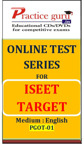 Practice Guru Series for ISEET Target Online Test(Voucher)