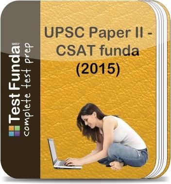 Test Funda UPSC Paper 2 - CSATfunda?(2015) Online Test(Voucher)