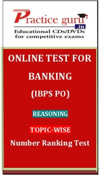 Practice Guru Banking (IBPS PO) Reasoning Topic-wise Number Ranking Test Online Test(Voucher)