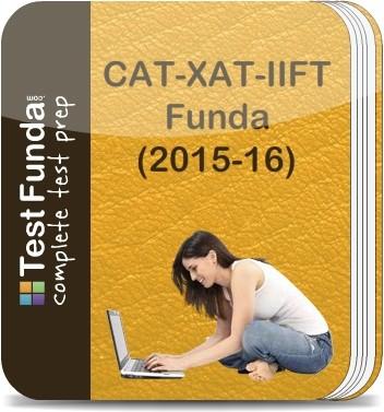 Test Funda CAT - XAT - IIFT Funda (2015 - 16) Online Test(Voucher)