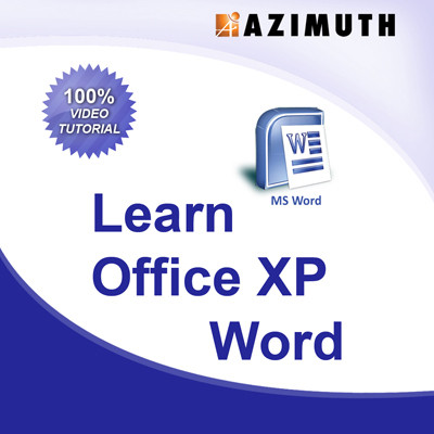 Azimuth Learn Office XP MS Word Online Course(Voucher)