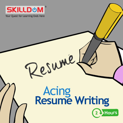 SKILLDOM Acing Resume Writing Certification Course(User ID-Password)