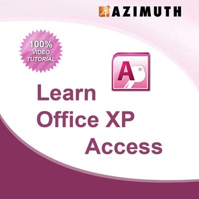 Azimuth Learn Office XP Access Online Course(Voucher)