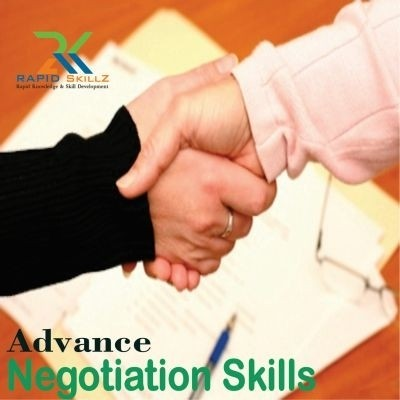 Rapidskillz Advance Negotiation Certification Course(User ID-Password)