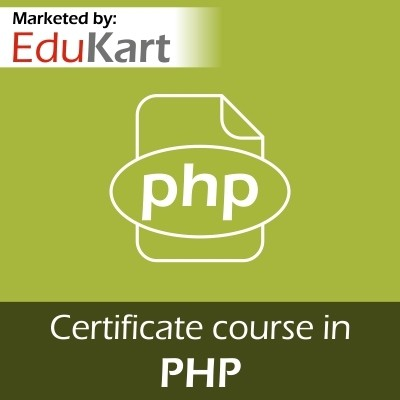 EduKart Certificate course in PHP - Certified by CSI Certification Course(Voucher)