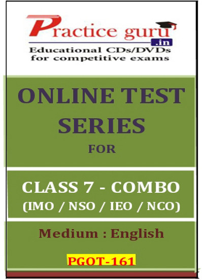 Practice Guru Series for Class 7 - Combo Pack - IMO / NSO / IEO / NCO Online Test(Voucher)