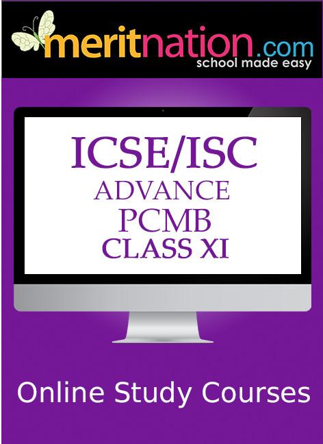 Meritnation ICSE / ISC - Advance PCMB (Class 11) School Course Material(Voucher)