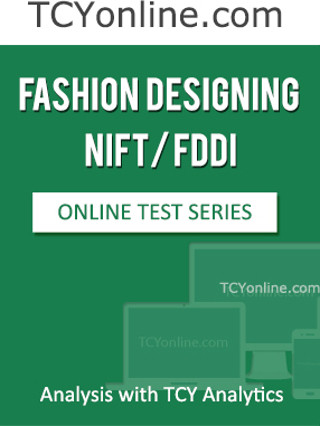 TCYonline Fashion Designing NIFT / FDDI - Analysis with TCY Analytics (8 Months Pack) Online Test(Voucher)