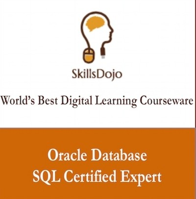 SkillsDojo Oracle Database - SQL Certified Expert Certification Course(Voucher)