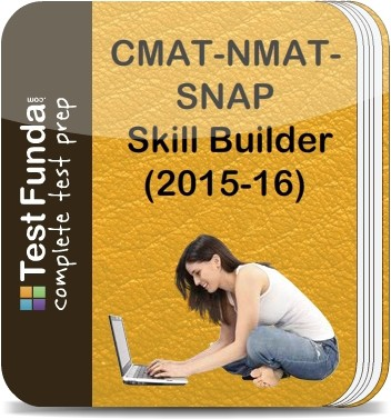 Test Funda CMAT - NMAT - SNAP Skill Builder (2015 - 16) Online Test(Voucher)