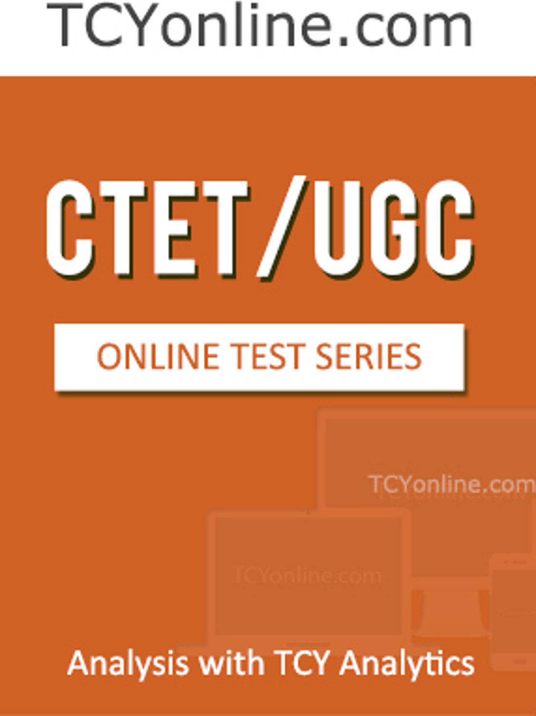 TCYonline CTET / UGC - Analysis with TCY Analytics (5 Months Pack) Online Test(Voucher)
