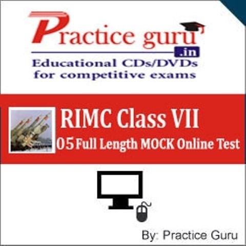 Practice Guru RIMC Class VII - 05 Full Length MOCK Online Test(Voucher)