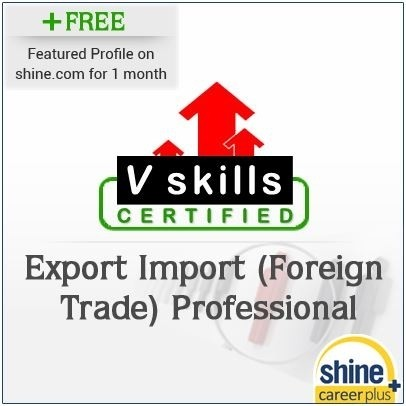Careerplus V Skills Certified Export Import (Foreign Trade) Professional Certification Course(Voucher)