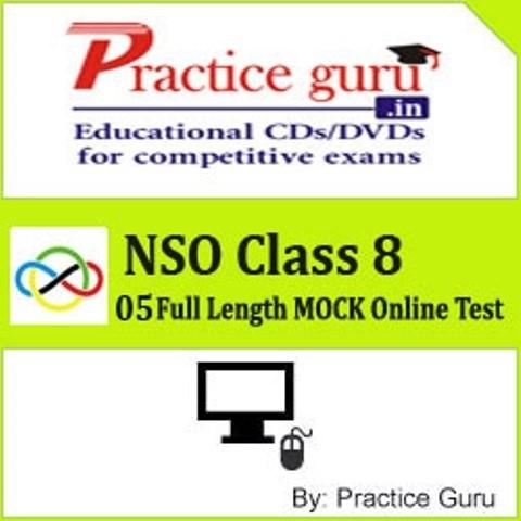 Practice Guru NSO Class 8 - 05 Full Length MOCK Online Test(Voucher)