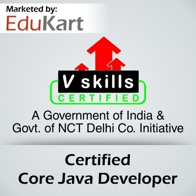 Vskills Certified Core Java Developer Certification Course(Voucher)