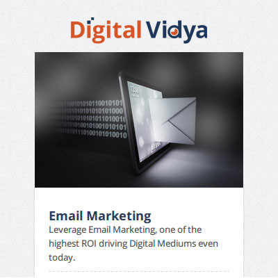 Digital Vidya Email Marketing Certification Course(Voucher)