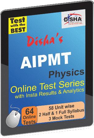 Disha Publication AIPMT - Physics with Insta Results & Analytics Online Test(Voucher)