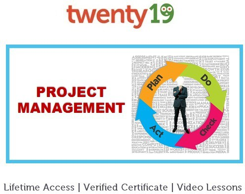 Twenty19 Project Management for Beginners Certification Course(Voucher)