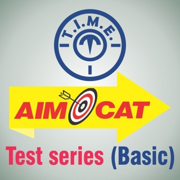 T.I.M.E. AIMCAT Test Series - Basic Higher Education(Voucher)