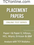 TCYonline Placement Papers Analysis with...