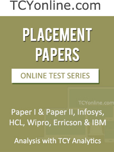 TCYonline Placement Papers Analysis with TCY Analytics (11 Months Pack) Online Test(Voucher)