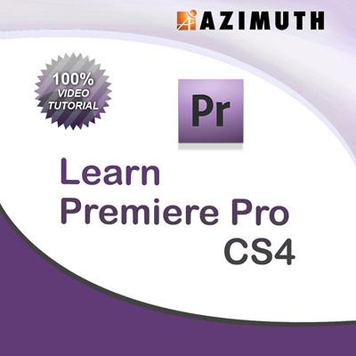 Azimuth Learn Premiere Pro CS4 Online Course(Voucher)