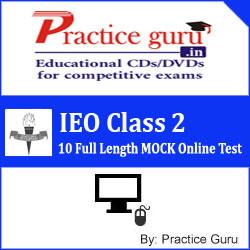 Practice Guru IEO Class 2 - 10 Full Length MOCK Online Test(Voucher)