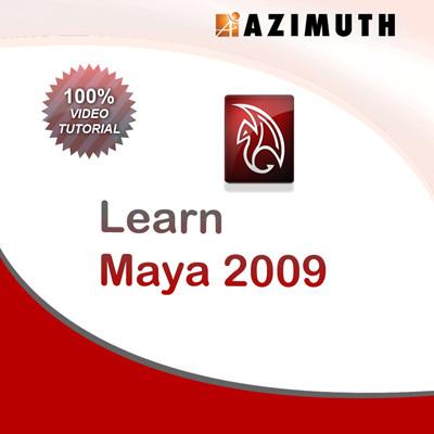 Azimuth Learn Maya 2009 Online Course(Voucher)