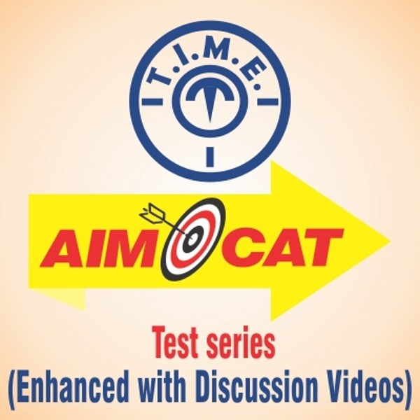 T.I.M.E. AIMCAT Test Series - Enhanced with Discussion Videos Higher Education(Voucher)