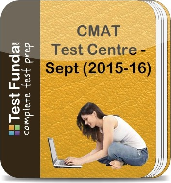 Test Funda CMAT Test Centre - Sept (2015 - 16) Online Test(Voucher)