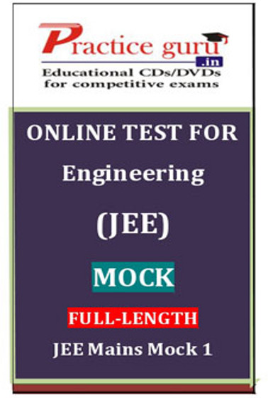 Practice Guru Engineering (JEE) Mock Full - Length JEE Mains Mock 1 Online Test(Voucher)