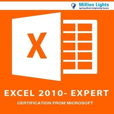 Millionlights Excel 2010 - Expert Certification from Microsoft Certification Course(Voucher)