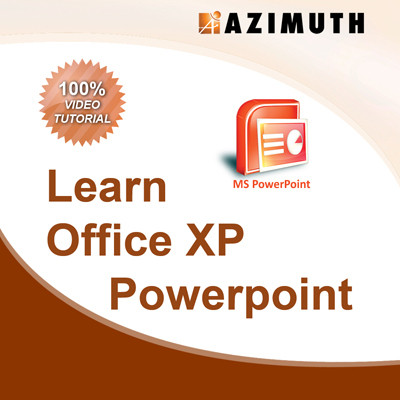 Azimuth Learn Office XP MS Powerpoint Online Course(Voucher)